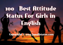 Best-attitude-status-girls-english