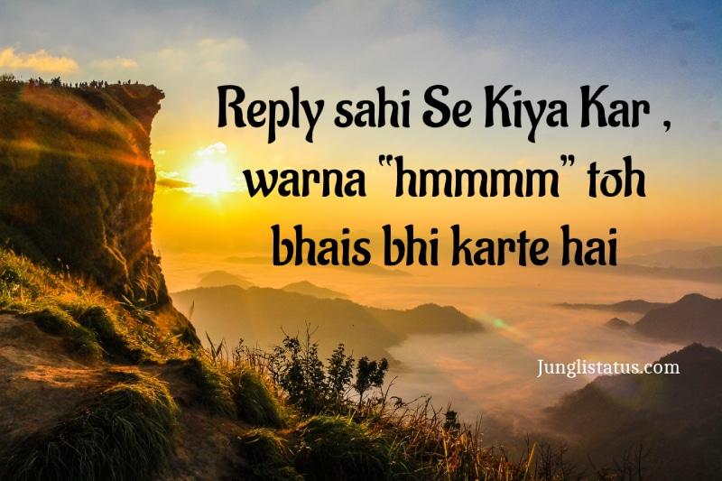 Angry-status-hindi-Font
